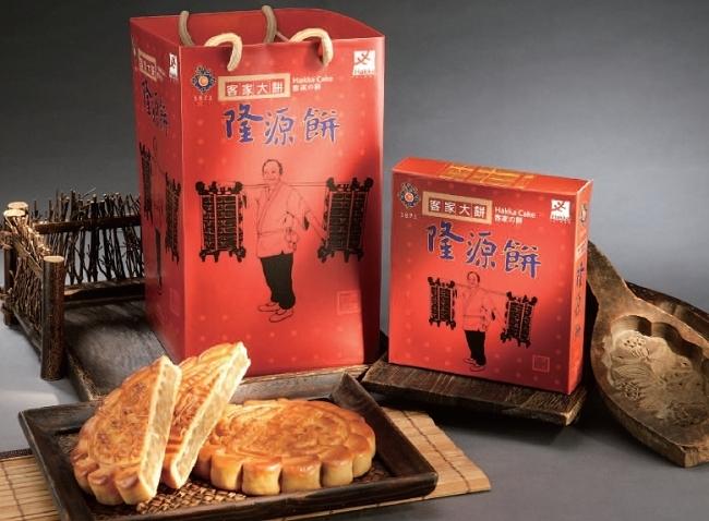 隆源餅行客家大餅鳳梨椰果口味共10入E0545