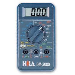 海碁HILA數位經濟款三用電錶DM-3000