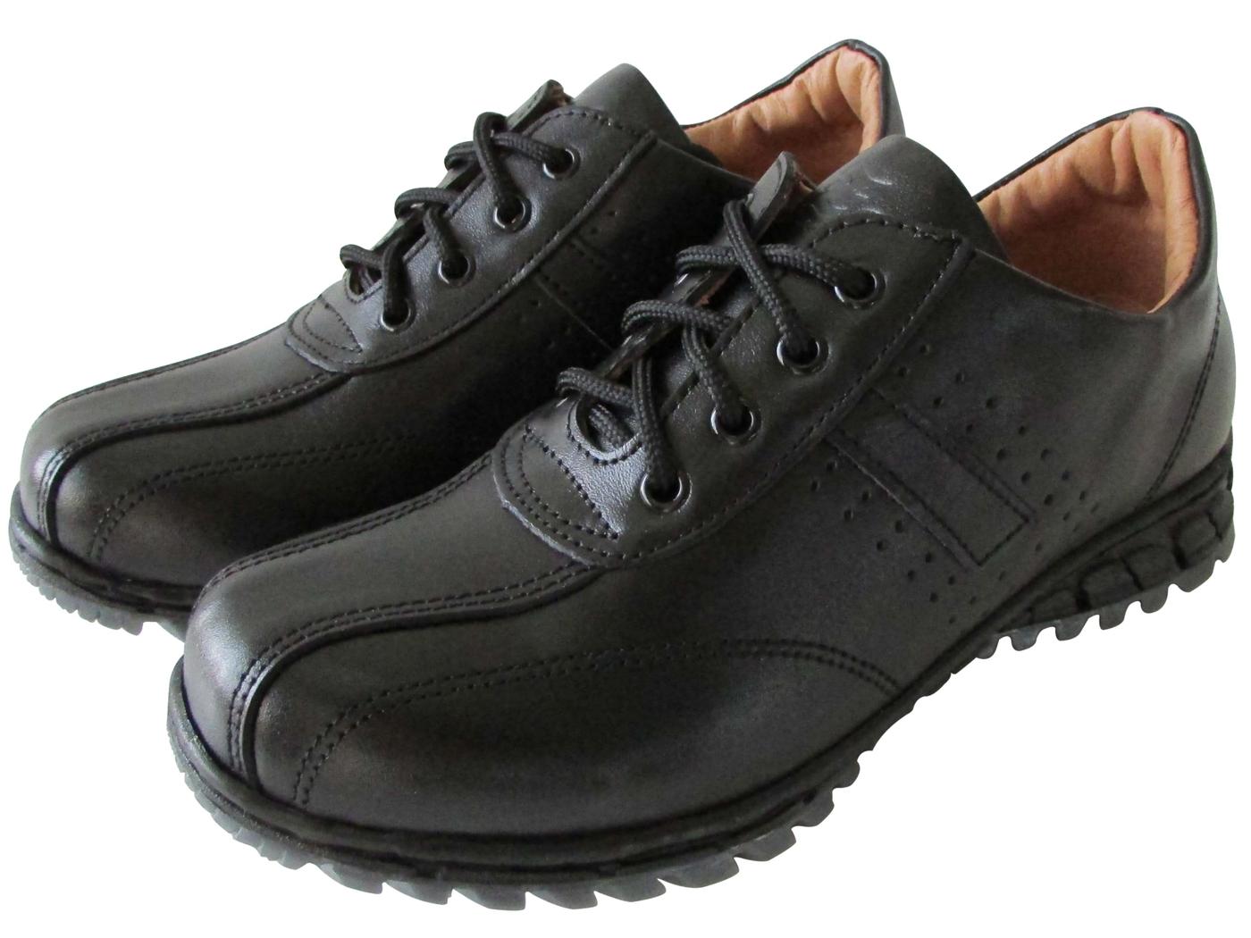 雙惠鞋櫃路豹Zobr百搭基本素面款女牛皮休閒鞋台灣製造T624A黑