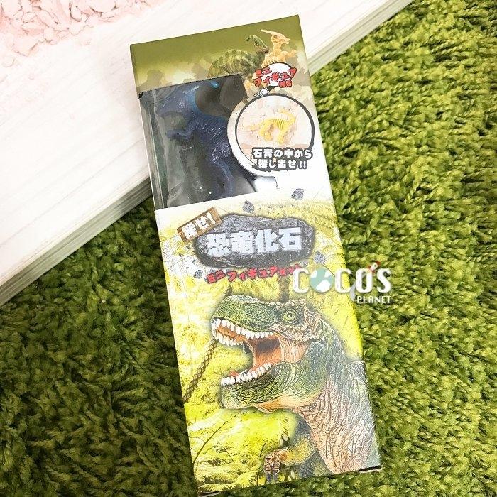 日本正版 恐龍化石 恐龍化石挖掘 恐龍化石考古挖掘玩具 恐龍公仔擺飾 A款 COCOS DK069