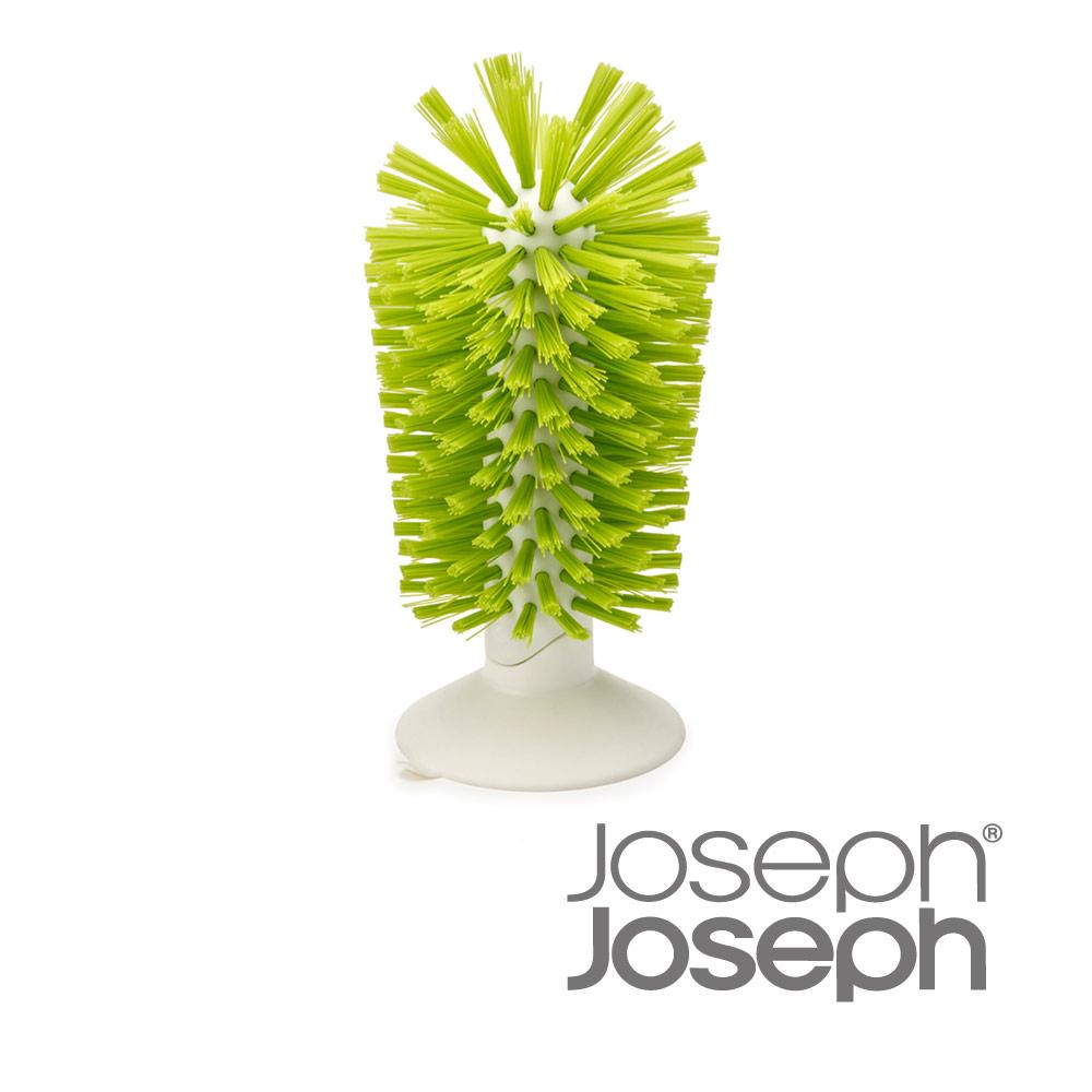 《Joseph Joseph英國創意餐廚》杯壺清潔刷立座(綠)