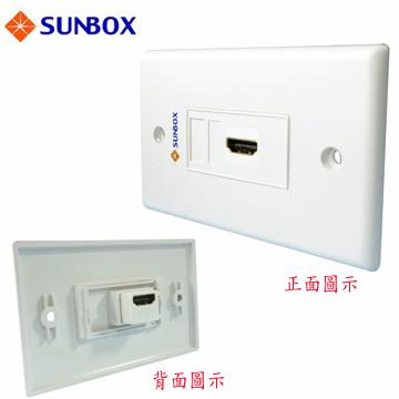 SUNBOX HDMI 面板插座 (WP-1H)