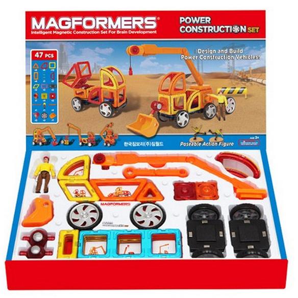 諾貝兒益智玩具 MAGFORMERS 磁性建構片-工程組