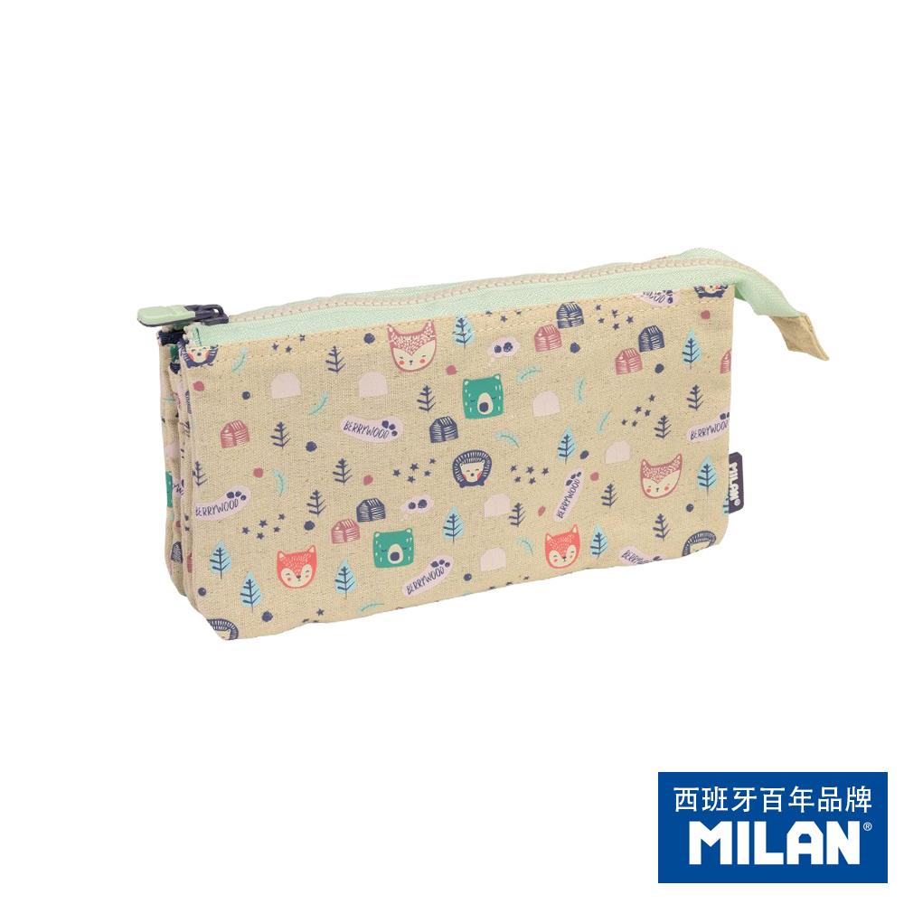 【MILAN】5層萬用袋_森林好朋友_筆袋化妝包隨身包拉鍊包