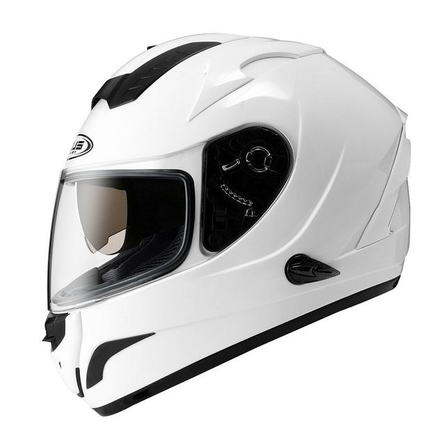 ZEUS瑞獅ZS 806F素色白全罩安全帽雙層鏡片免運費