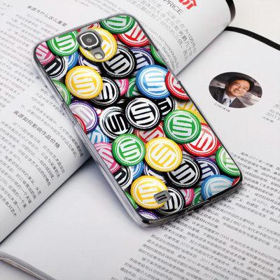 機殼喵喵三星Samsung i9500 Galaxy S4手機殼客製化照片外殼全彩工藝SZ164