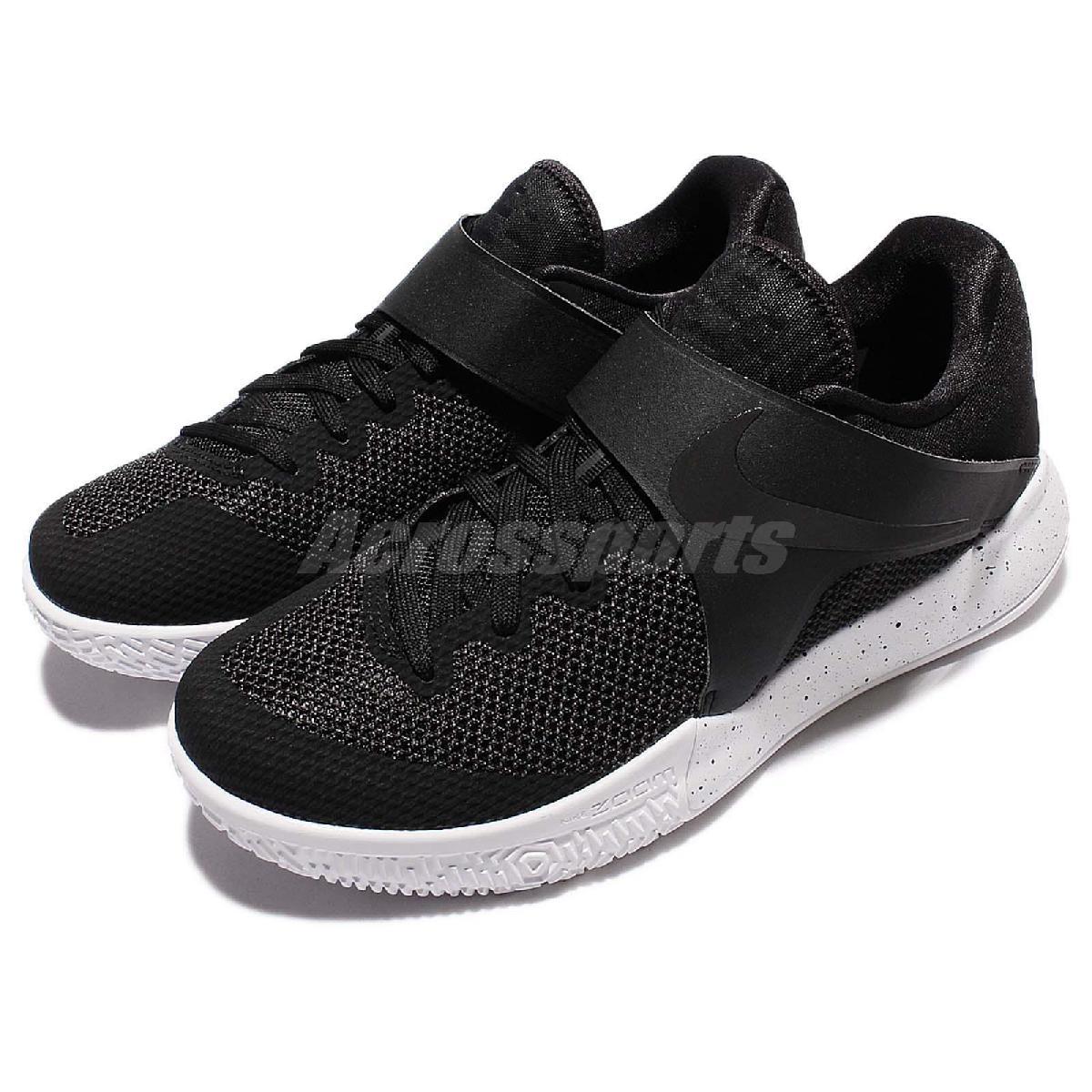 Nike籃球鞋Zoom Live EP黑白潑墨魔鬼氈低筒運動鞋男鞋球鞋PUMP306 860633-001