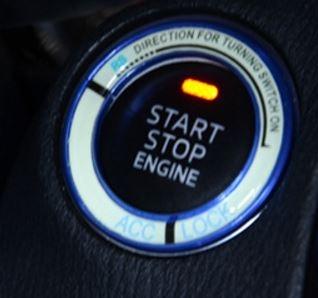 HONDA鑰匙孔夜光貼點火圈鑰匙孔裝飾貼CITY FIT CRV HRC CIVIC ODYSSEY沂軒精品