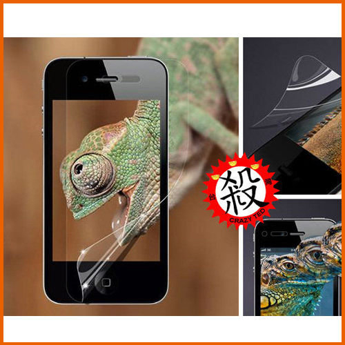 【Love Shop】9元商品 限購1入 蘋果iPhone5 貼膜手機保護膜高清 前膜配件