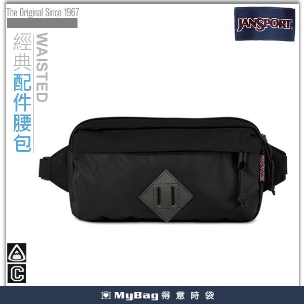 JANSPORT  隨身輕巧腰包  42017-0BJ  黑潮  單肩側背包  MyBag得意時袋
