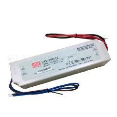 明緯電源供應器 明緯電源 led電源供應器 明緯MW LPV-100-12 投射燈電源 戶外防水電源 探照燈電源