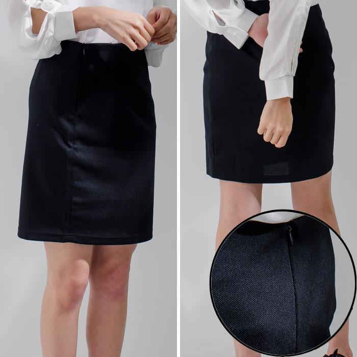 基本必備款 面試職業正式氣質膝上裙 MDS160003