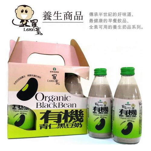 羅東鎮農會羅董有機青仁黑豆奶245mlx6瓶組