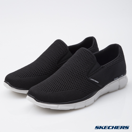 SKECHERS男鞋時尚休閒系列Equalizer腳套黑51509BKW