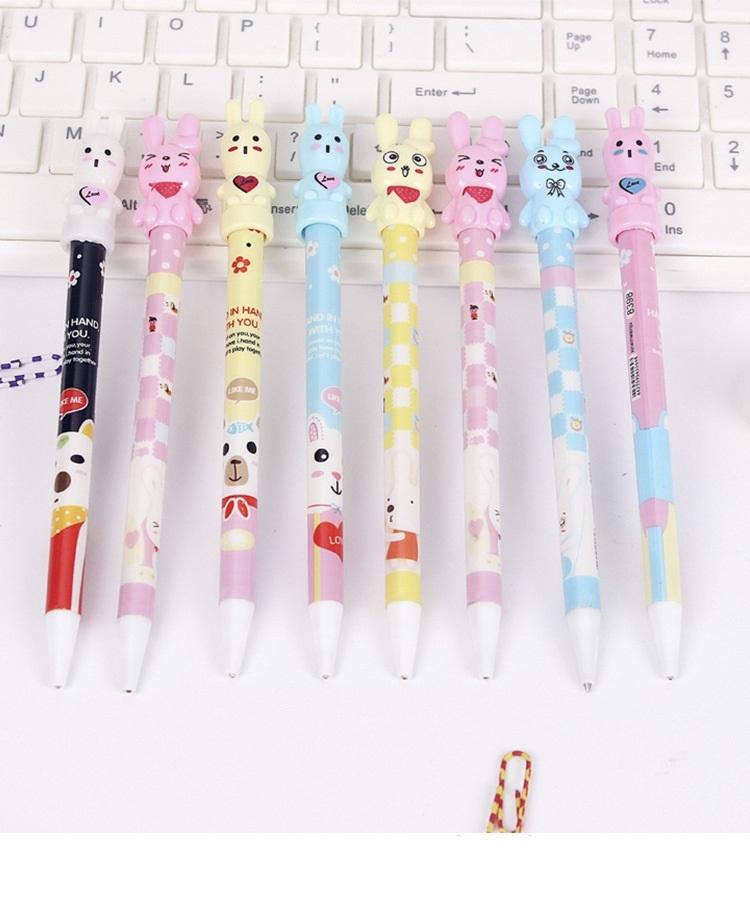 0.5自動鉛筆.可愛卡通自動鉛筆10支100元.開學用品.學生獎品.萌萌豬生活館