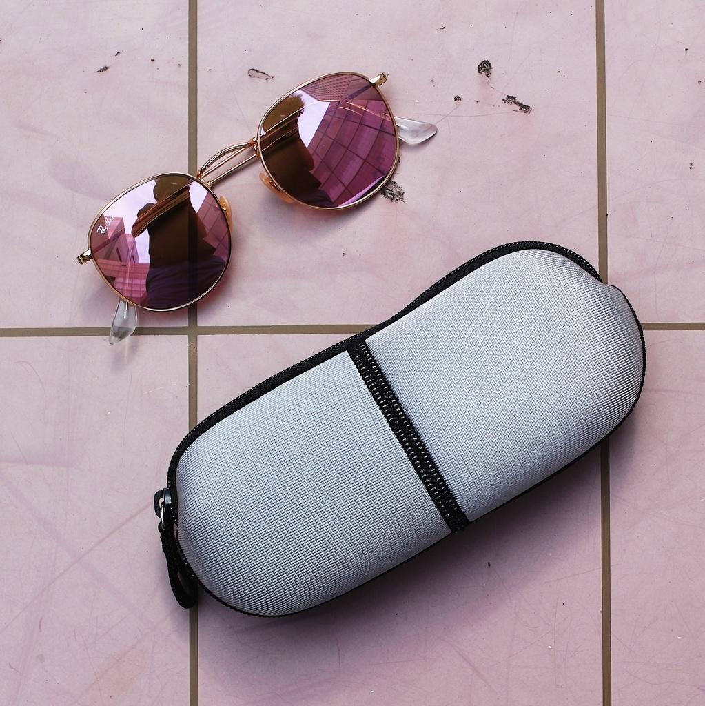 膠囊眼鏡袋太陽眼鏡墨鏡十色可選
