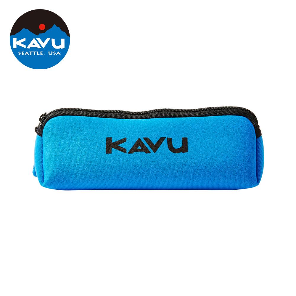 日本限定款西雅圖KAVU Pen Case鉛筆袋藍色70448