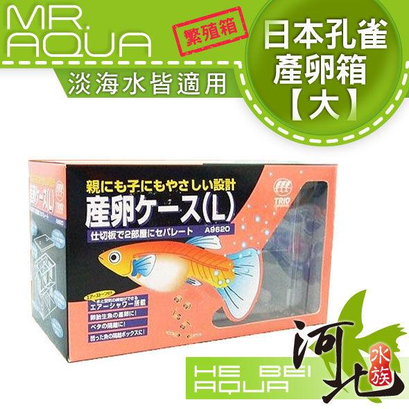 [ 河北水族 ] MR.AQUA 【 日本孔雀產卵箱 L(SB-2) 大 】  內掛 內置 缸內 繁殖箱 飼育盒