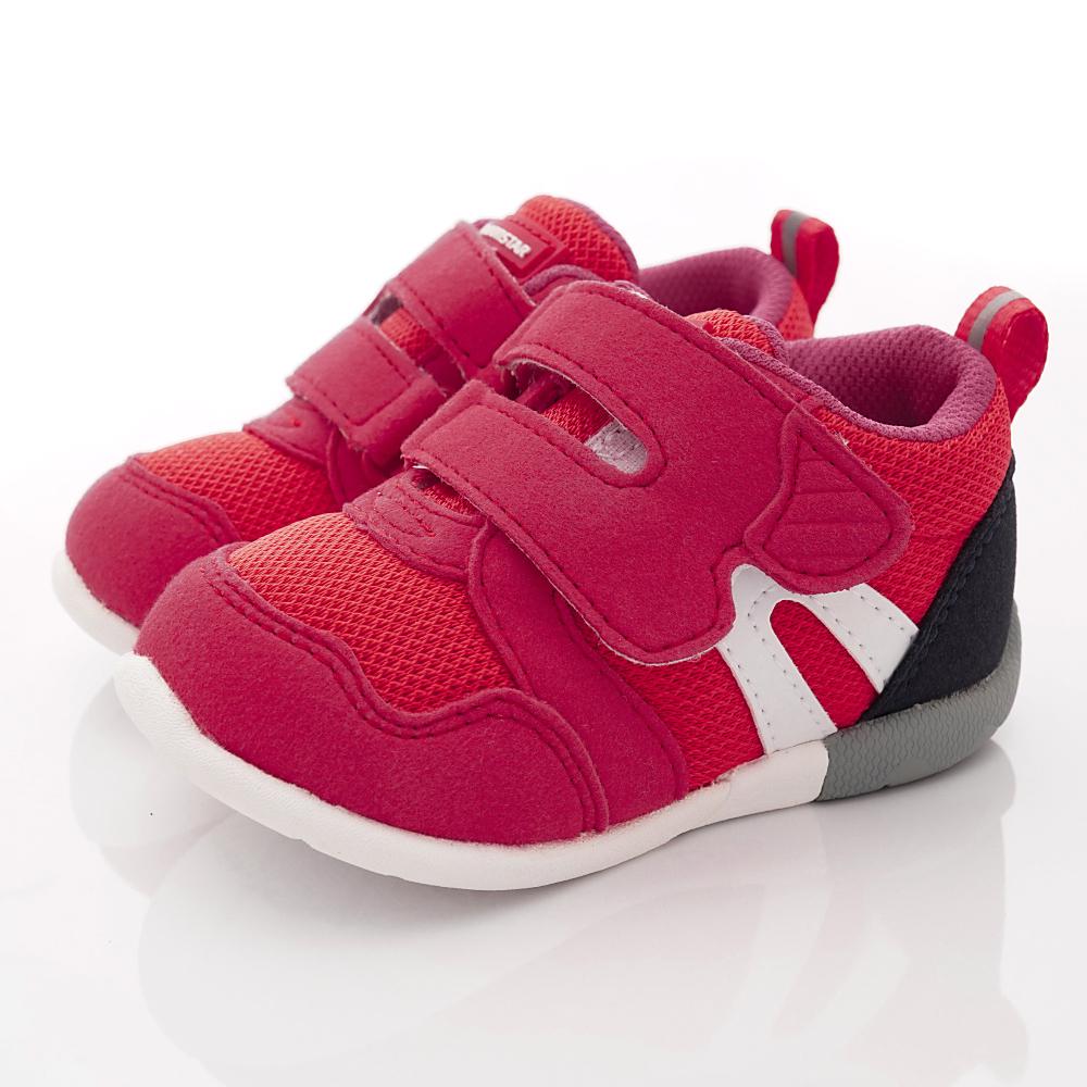 日本Moonstar機能童鞋 HI系列3E學步款 1113紅(寶寶段)