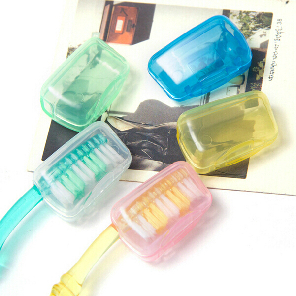 [超豐國際]出差旅行優選彩色牙刷頭保護殼牙刷頭保護套牙刷頭套1入