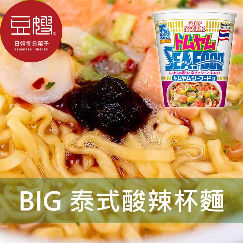 【豆嫂】日本泡麵 日清 BIG泰式酸辣風味杯麵(98g)