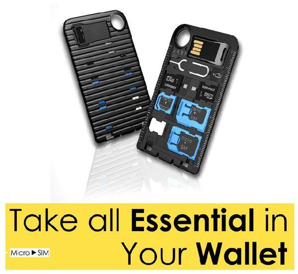 新加坡CARD Storage 0-Pro手機SIM卡轉換器工具 附記卡槽 取卡針 micro nano 大卡轉卡器