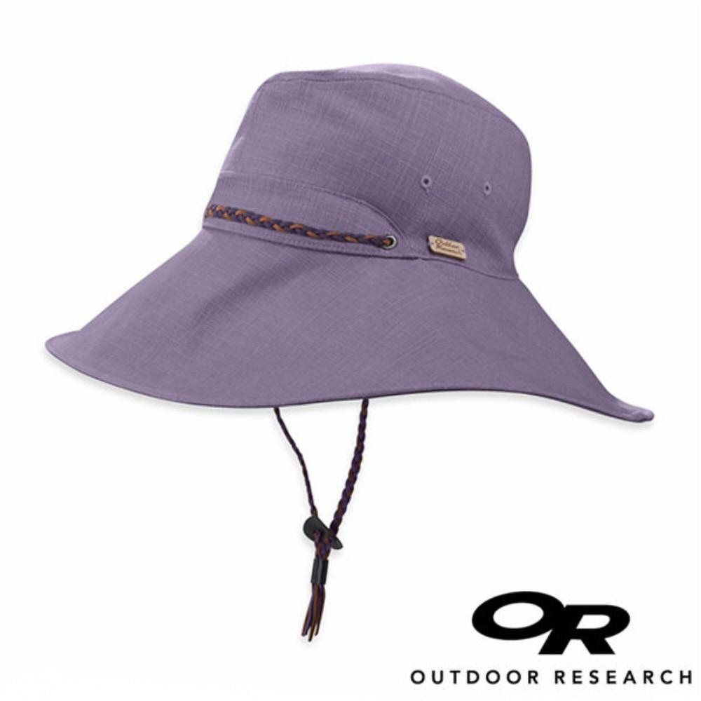 OR美國Outdoor Research Mojave女抗紫外線圓盤帽暗紫244065登山.戶外.防曬帽.圓盤帽.大盤帽