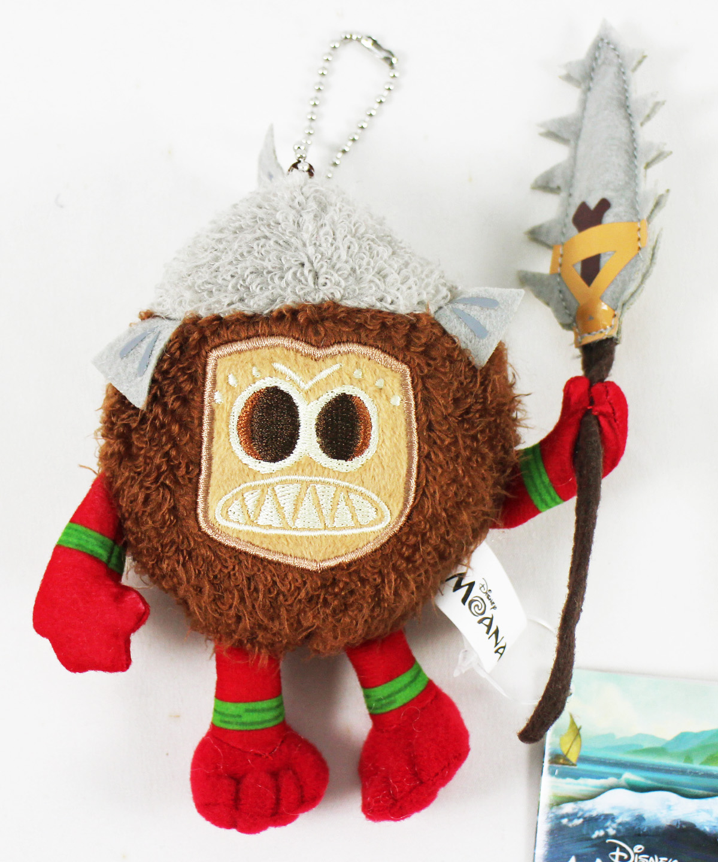 卡漫城可可怪玩偶絨毛長茅版Moana海洋奇緣禮物掛飾娃娃布偶吊飾椰子莫娜coco怪