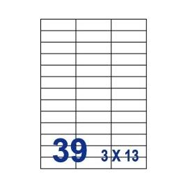 Unistar 裕德3合1電腦標籤紙 (63)UH2370 39格 (20張/包)