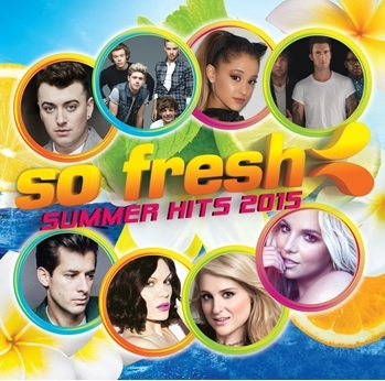 超即時 夏季國歌2015   CD 西洋合輯 V.A.   SO FRESH Summer Hits 2015  (音樂影片購)