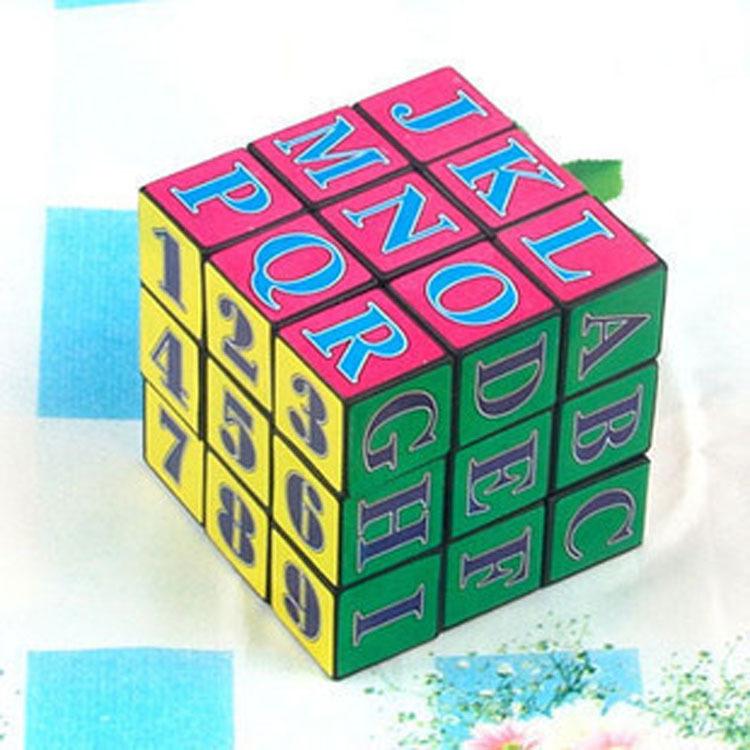 童益智玩具 大號魔方 四面轉 數位元元魔方 字母魔方39元【省錢博士】