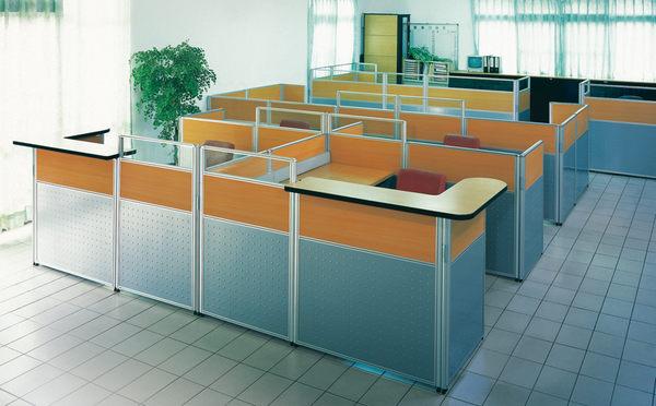 2.5cm屏風隔間各種尺寸丈量規劃設計辦公家具各式鐵櫃