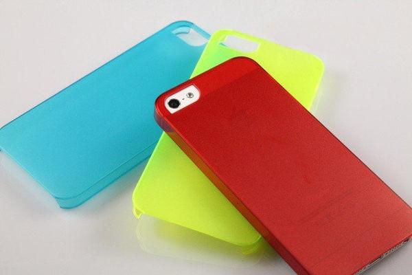 (特價) ULTRA THIN SLIM 0.5mm 超薄透明手機保護殼  Note 2 IPHONE 5