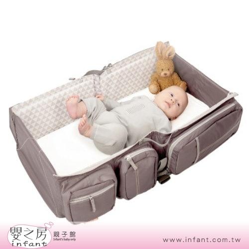 嬰之房比利時Doomoo Basics Carry Cot Travel Bag寶寶行動眠床沙褐棕