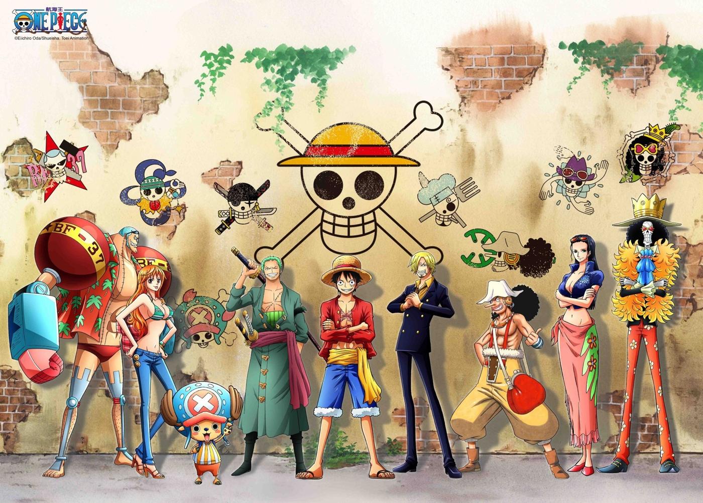 拼圖總動員PUZZLE STORY航海王-塗鴉牆PuzzleStory海賊王One Piece 520P