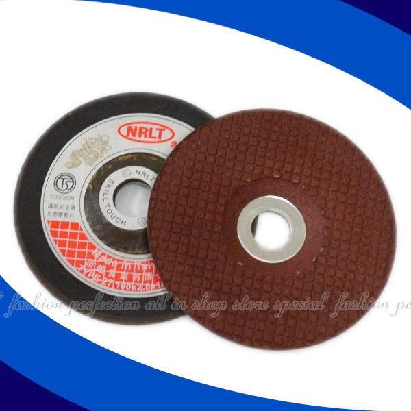 "【1120-35&3105-20】NRLT可彎曲砂輪4""(100x2x16mm) AC/WA 紅 樹脂砂輪 軟質砂輪★EZGO商城★"