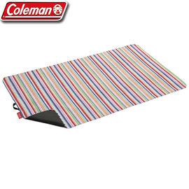 丹大戶外Coleman粉紅條紋迷你野餐休閒墊CM-10659