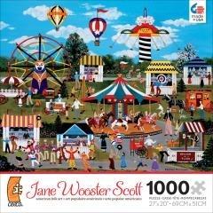 [楷樂國際][1000片拼圖] 嘉年華會 Jane Wooster Scott - Carnival Merriment #Ceaco