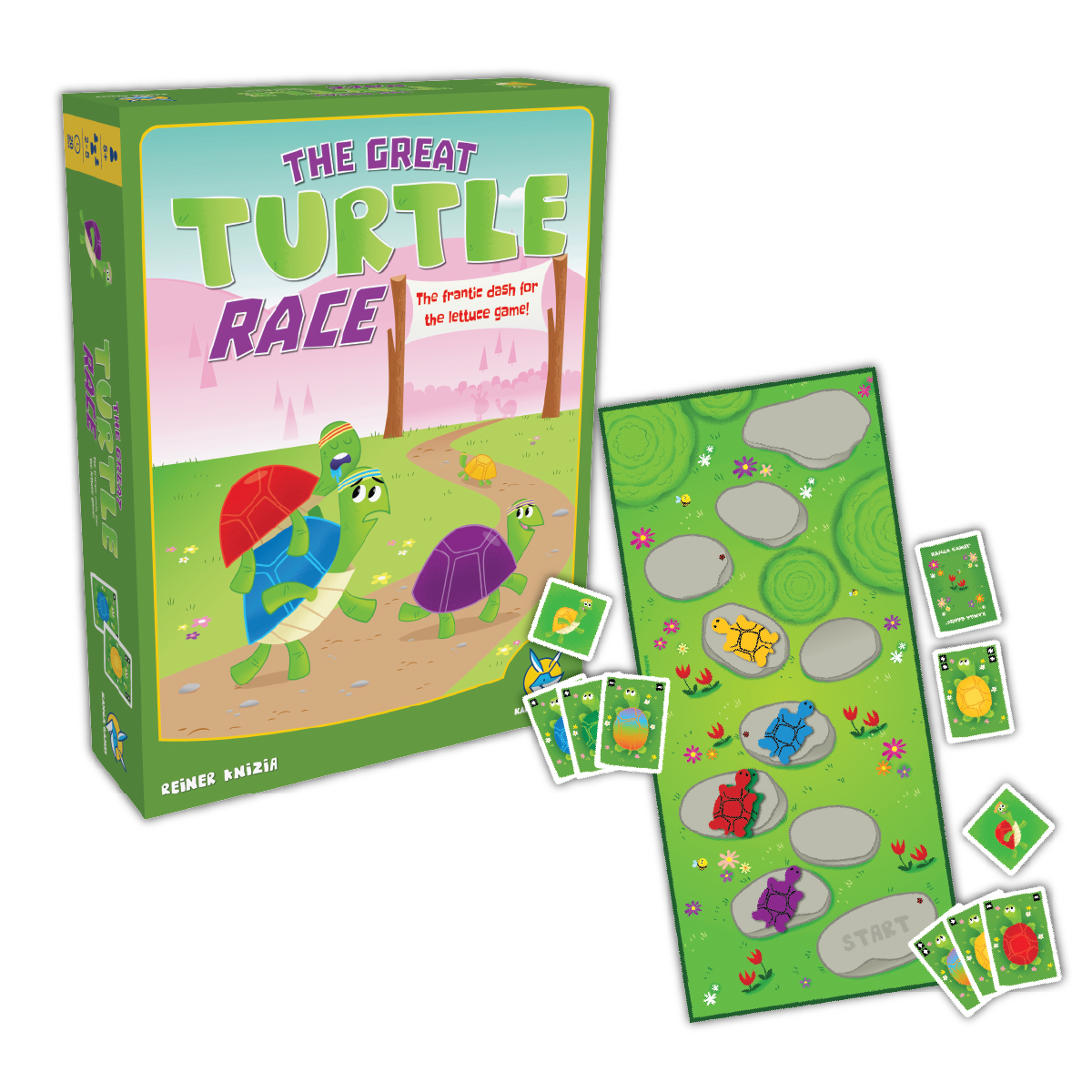 瘋桌遊這次烏龜學聰明賽跑不會輸跑跑龜