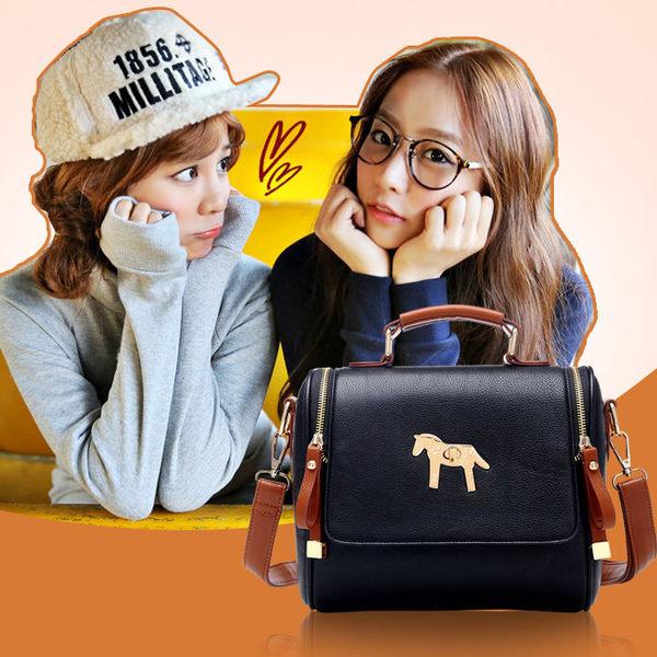 2014款日韓流行休閒斜背包手提包單肩包小馬包-6色單售