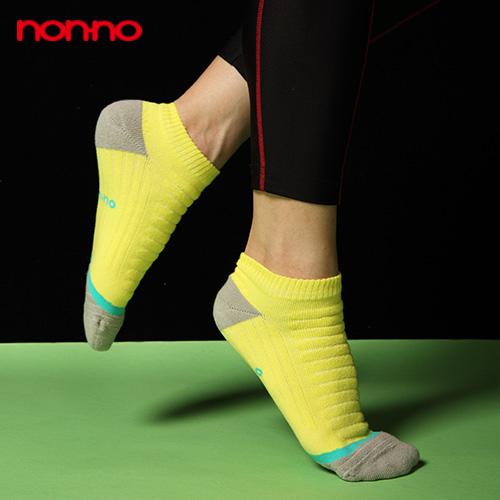【non-no儂儂褲襪】(2入)男女適用科技運動襪-27006