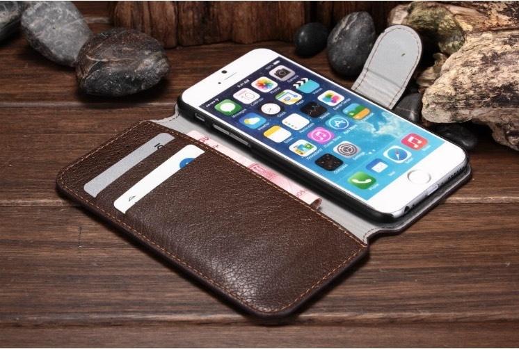 【世明國際】iPhone6 4.7吋 可插卡 日記 i6真皮皮套 支架 PC 側翻皮套 手機支架 手機保護套 i6/i6