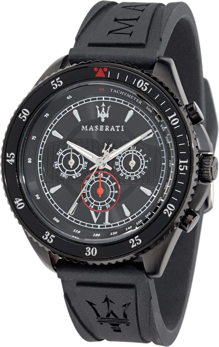 MASERATI WATCH-瑪莎拉蒂手錶-矽膠運動款-R8851101001-錶現精品公司-原廠正貨-鏡面保固一年