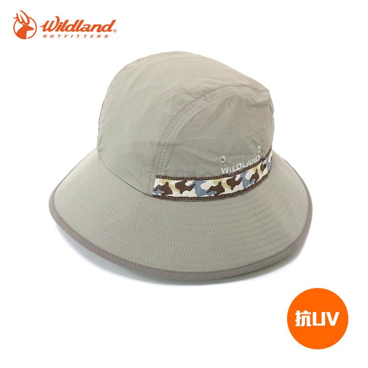 Wildland中性織帶抗UV圓盤帽W1010城市綠洲UPF30.防曬.防紫外線.機能帽.吸濕快乾透氣
