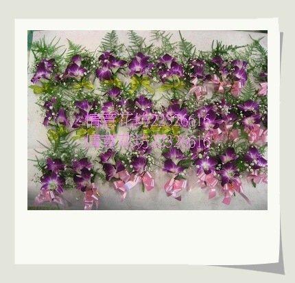 (YD-41)婚禮會場必備婚禮小物~婚禮&活動用胸花(石斛蘭/玫瑰花)每組80元~