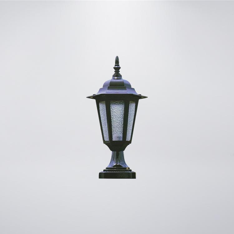 小六角戶外防水門柱燈  可搭配LED