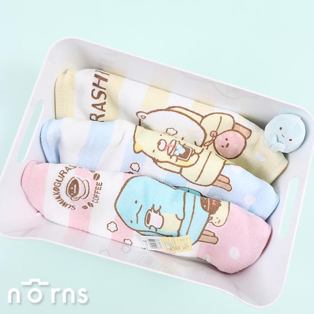 【角落生物純棉毛巾 咖啡椅系列】Norns 正版授權