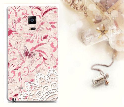 ♥ 俏魔女美人館 ♥ 特價 {粉美   * 水晶硬殼} SAMSUNG GALAXY Note Edge 手機殼 手機套 保護套