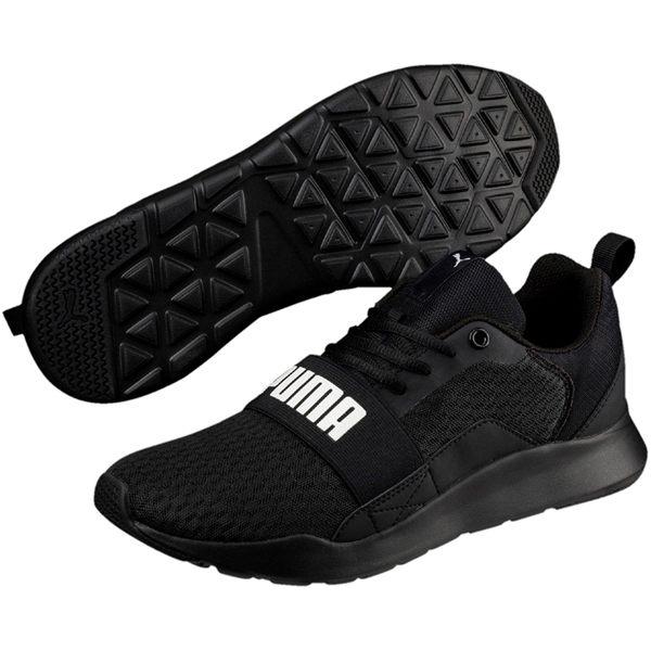 Puma Wired 男 黑 運動慢跑鞋 運動鞋 休閒鞋 IMEVA鞋底 透氣 彈性 緩震 36697001