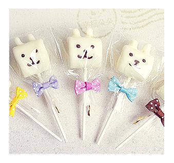 幸福朵朵寶寶彌月禮分享-手作巧克力棉花糖x50支最多可選5款造型禮贈品婚禮小物